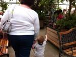 "Baby T showing Nana the ""bugs"""